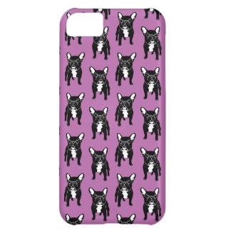 Capa Para iPhone 5C Filhote de cachorro rajado bonito super do