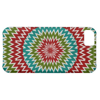 Capa Para iPhone 5C Flor mandalaic hipnótica