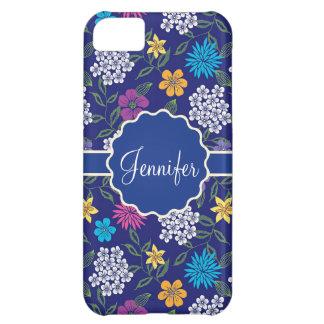 Capa Para iPhone 5C Flores selvagens femininos do primavera e do
