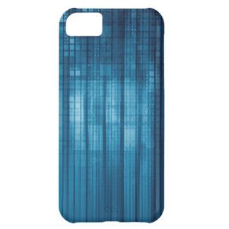 Capa Para iPhone 5C Fundo do mosaico da tecnologia como uma arte do