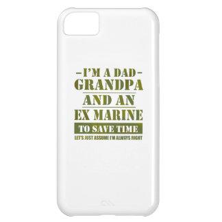 Capa Para iPhone 5C Fuzileiro naval ex