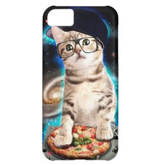 Capa Para iPhone 5C gato do DJ - gato do espaço - pizza do gato -