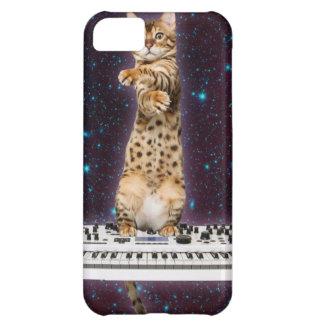 Capa Para iPhone 5C gato do teclado - gatos engraçados - amantes do
