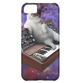 Capa Para iPhone 5C gato do teclado - memes do gato - gato louco