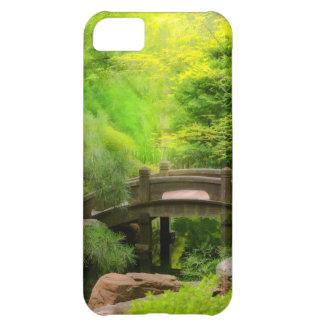 Capa Para iPhone 5C Jardim japonês - água sob a ponte