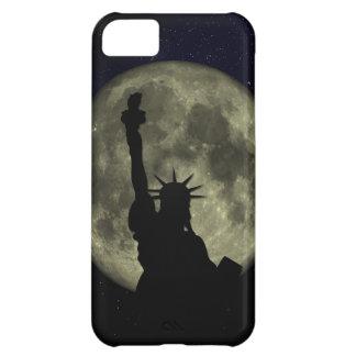 Capa Para iPhone 5C Lua e senhora Liberdade