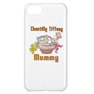Capa Para iPhone 5C Mamã do gato de Chantilly Tiffany