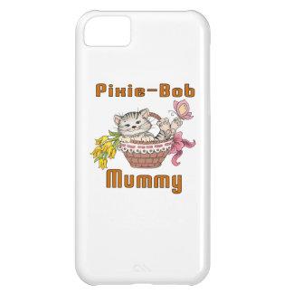Capa Para iPhone 5C Mamã do gato de Duende-Bob
