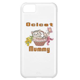 Capa Para iPhone 5C Mamã do gato de Ocicat