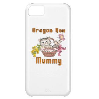 Capa Para iPhone 5C Mamã do gato de Oregon Rex