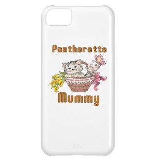 Capa Para iPhone 5C Mamã do gato de Pantherette