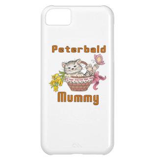 Capa Para iPhone 5C Mamã do gato de Peterbald