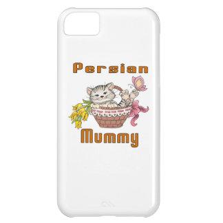 Capa Para iPhone 5C Mamã do gato persa