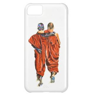 Capa Para iPhone 5C Monges budistas