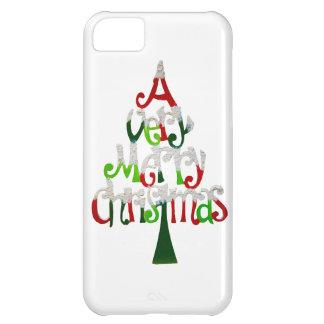 Capa Para iPhone 5C Muito árvore do Feliz Natal
