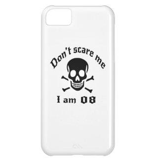 Capa Para iPhone 5C Não faz o susto mim que eu sou 08