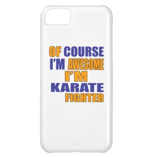 Capa Para iPhone 5C Naturalmente eu sou lutador do karaté