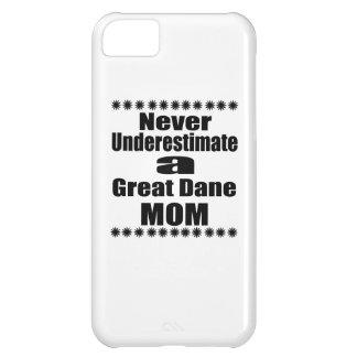 Capa Para iPhone 5C Nunca subestime a mamã de great dane