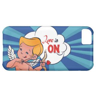Capa Para iPhone 5C O amor da volta do arqueiro do Cupido está no pop