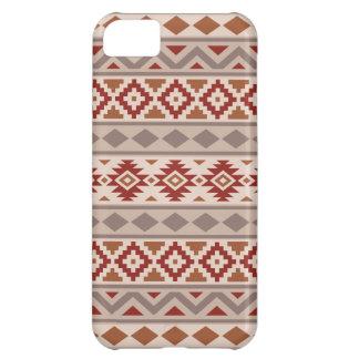 Capa Para iPhone 5C Os Taupes astecas de Ptn IIIb da essência desnatam