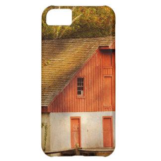 Capa Para iPhone 5C País - celeiro - para fora ao pasto