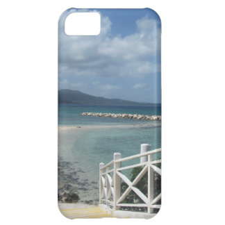 Capa Para iPhone 5C Praia de Montego Bay, caso do iPhone 5C de Jamaica