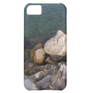 Capa Para iPhone 5C Rochas do oceano no caso do iPhone 5C de Jamaica