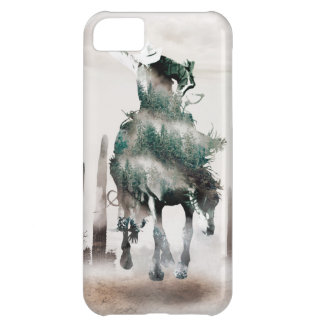 Capa Para iPhone 5C Rodeio - exposição dobro - vaqueiro - vaqueiro do