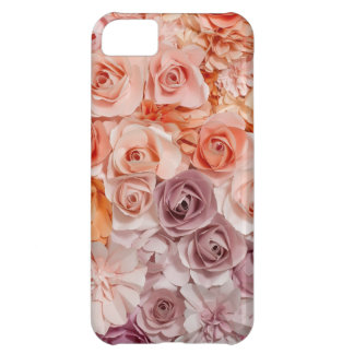 Capa Para iPhone 5C rosas do vintage
