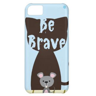 Capa Para iPhone 5C Seja rato pequeno bravo