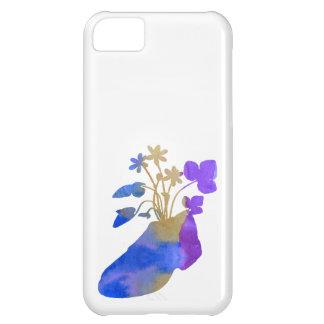 Capa Para iPhone 5C Shoeflowers