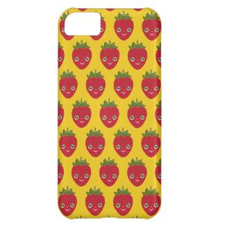 Capa Para iPhone 5C Skullberry, morango doce que tem o trapaceiro ido