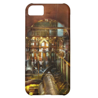 Capa Para iPhone 5C Steampunk - pense - tanques