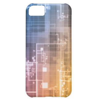 Capa Para iPhone 5C Tecnologia futurista como uma arte da próxima