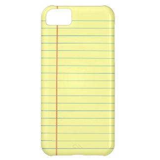 Capa Para iPhone 5C Teste padrão da almofada legal
