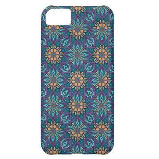 Capa Para iPhone 5C Teste padrão floral do abstrato da mandala