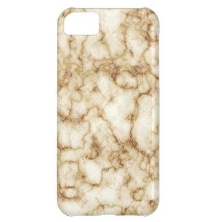 Capa Para iPhone 5C Textura de mármore elegante