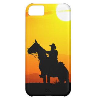 Capa Para iPhone 5C Vaqueiro-Vaqueiro-luz do sol-ocidental-país do por