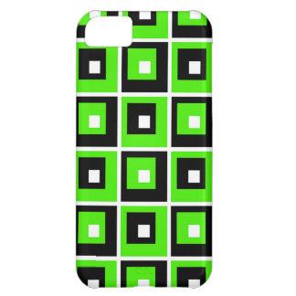 Capa Para iPhone 5C Verde, preto e branco