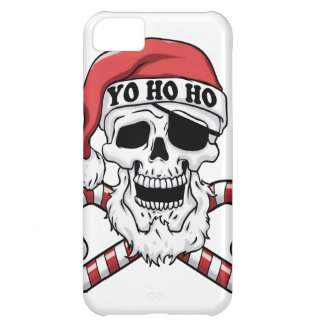 Capa Para iPhone 5C Yo ho ho - papai noel do pirata - Papai Noel