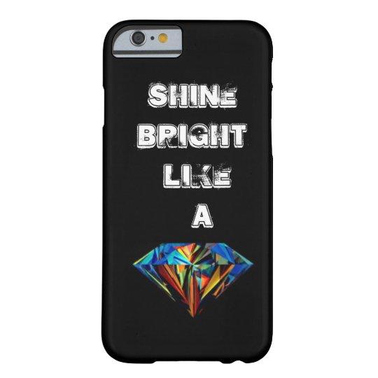 Capa para Iphone 6/6s ''Brilhe como um Diamante''