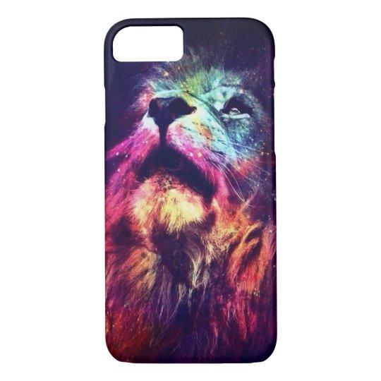 Capa para iPhone 6/6S, Lion Color