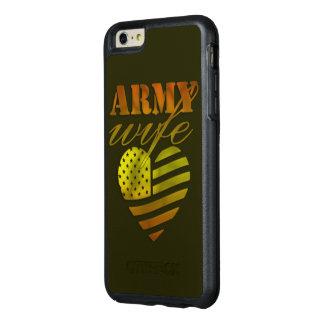 "Capa para iPhone 6/6s Plus ""ARMY Wife"""