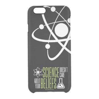 Capa Para iPhone 6/6S Transparente A ciência não se importa