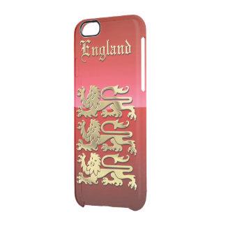 Capa Para iPhone 6/6S Transparente A crista real de Inglaterra