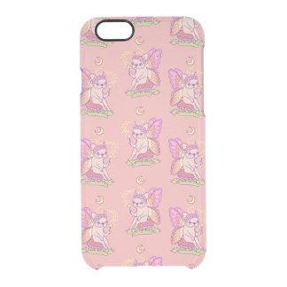 Capa Para iPhone 6/6S Transparente A fada bonito de Frenchie está moldando um período
