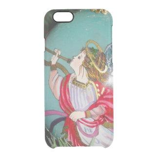 Capa Para iPhone 6/6S Transparente Anjo do Natal - arte do Natal - decorações do anjo