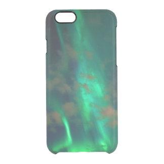 Capa Para iPhone 6/6S Transparente Aurora boreal, Aurora Borealis