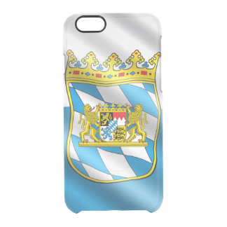 Capa Para iPhone 6/6S Transparente Bandeira bávara