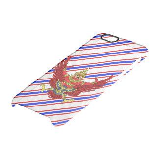 Capa Para iPhone 6/6S Transparente Bandeira tailandesa das listras